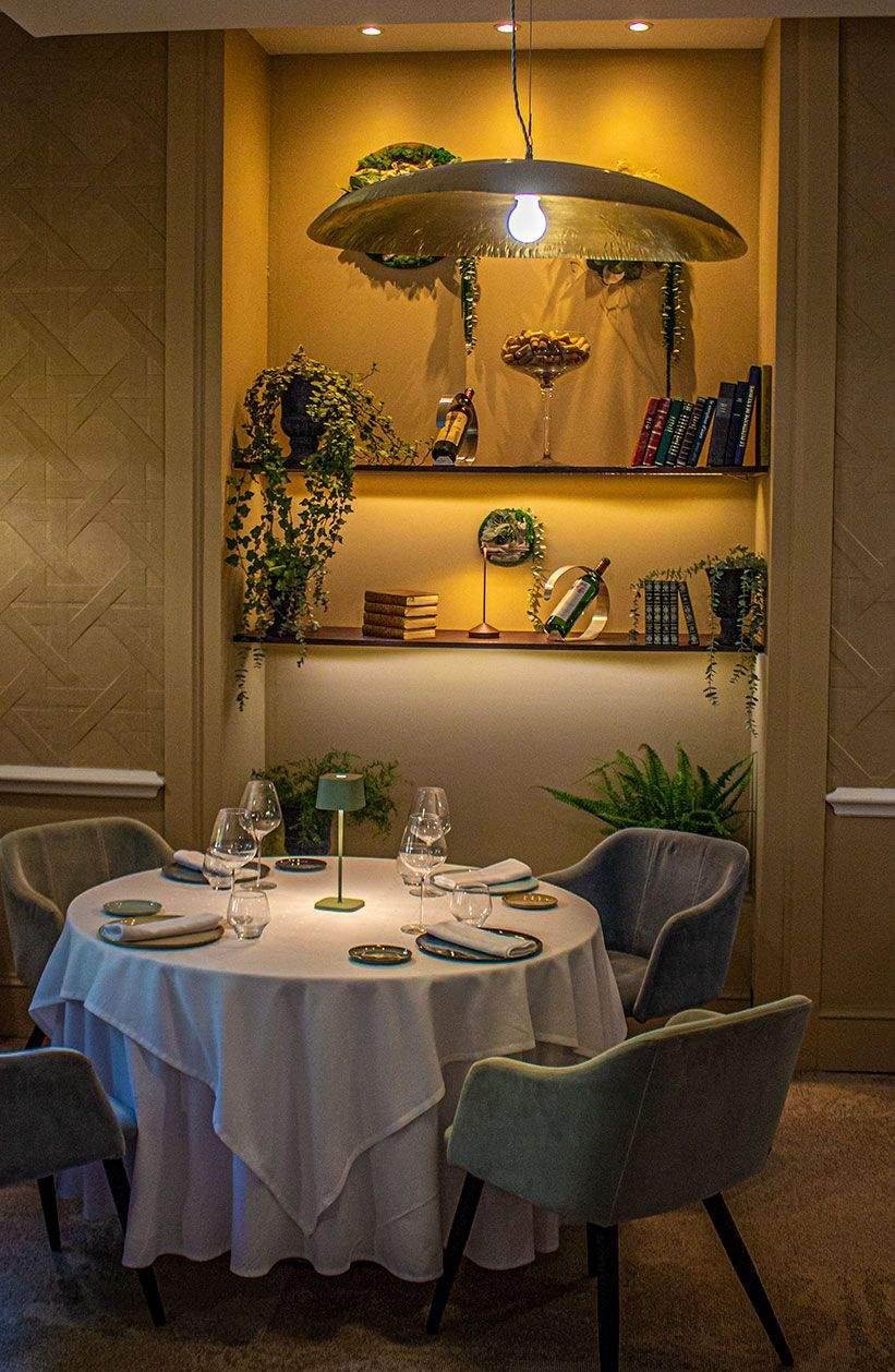 salle du restaurant du Vivarais