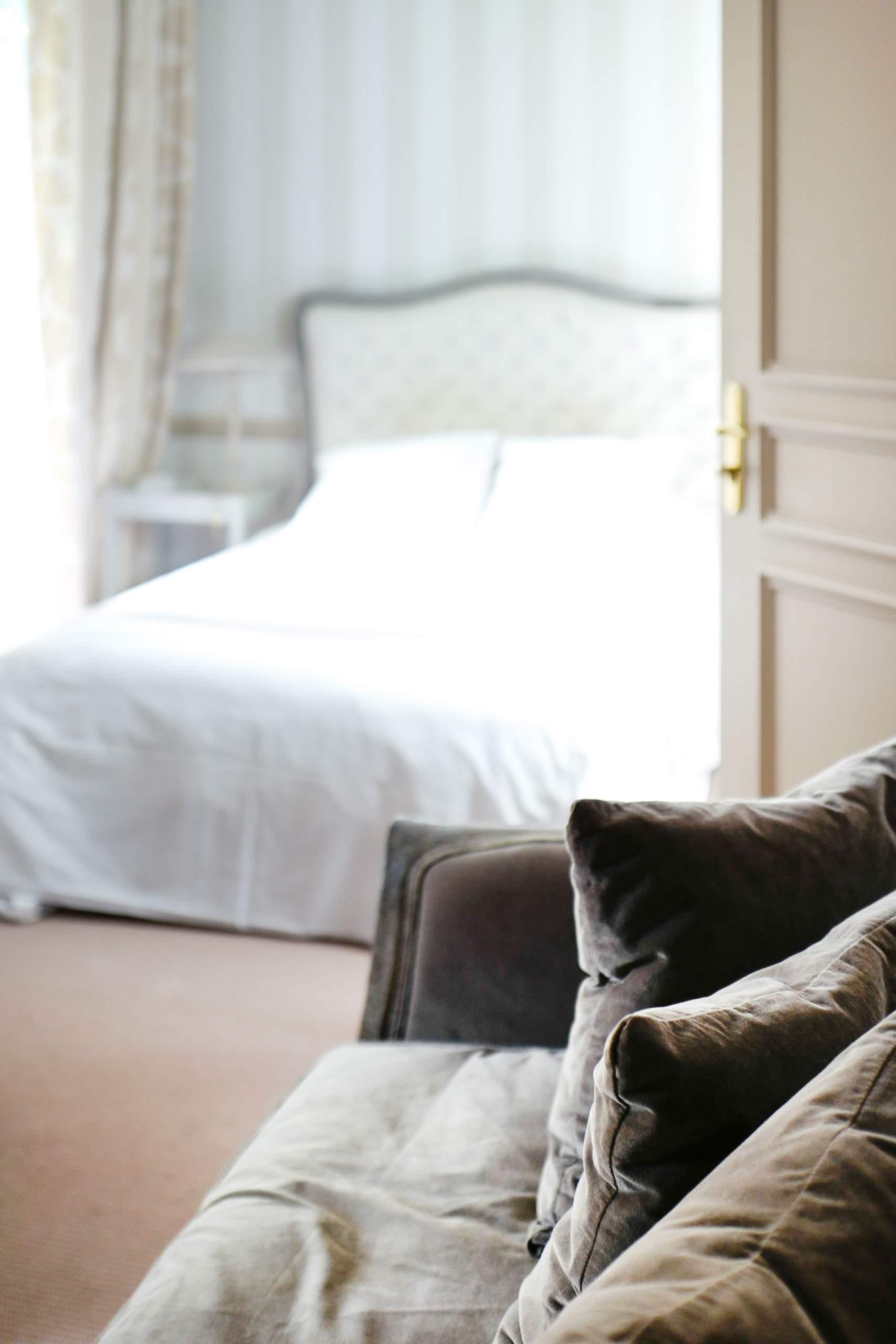 Hôtel Helvie bedrooms